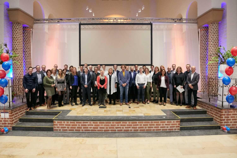 De NIVE diploma-uitreiking van 31 oktober 2018